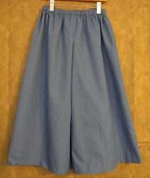 Box Pleat Split Skirt (Culottes)